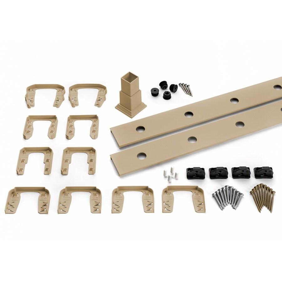 Trex Transcend 4-Pack Rope Swing Composite Deck Railing Kit (Assembled: 5.625-ft x 3-ft)