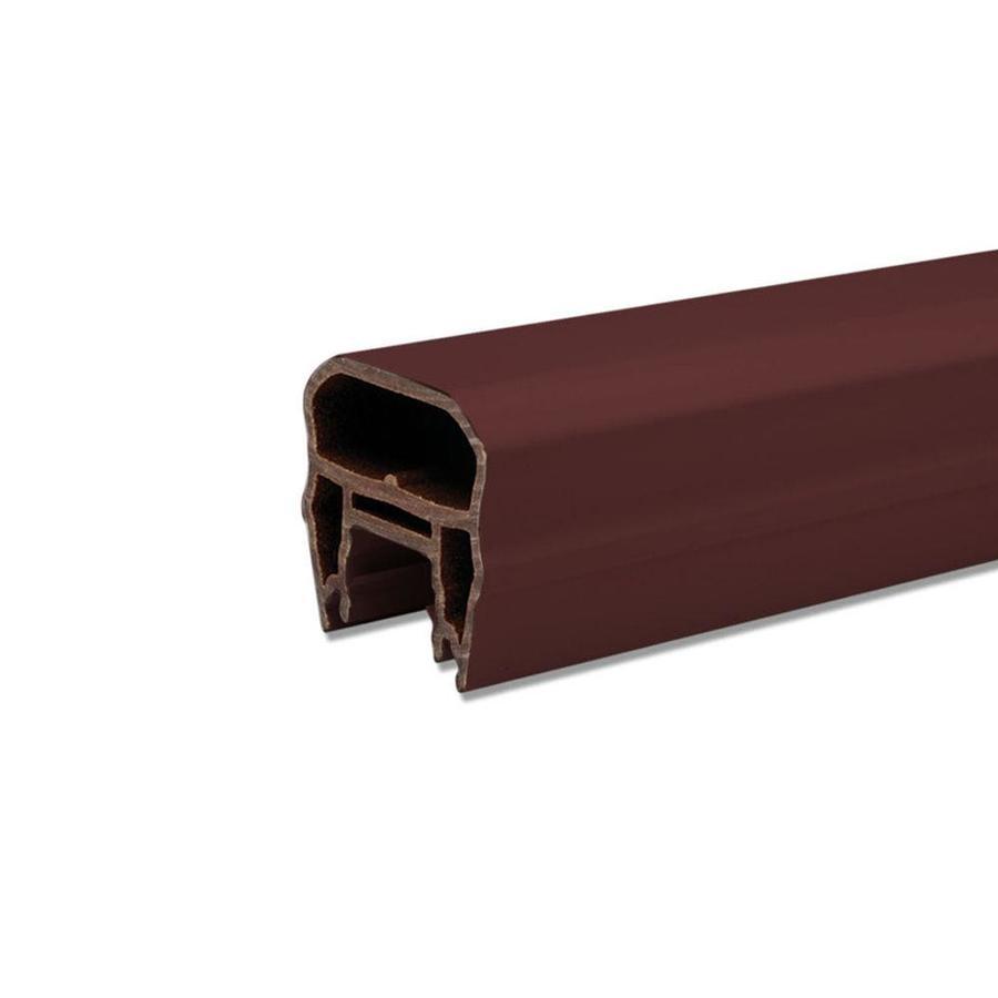 Trex Transcend Vintage Lantern Composite Deck Top Rail Common: 6-ft; Actual: 3-in x 3.63-in x 5.625-ft)
