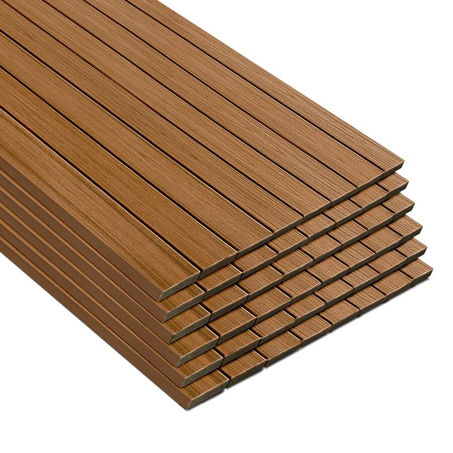 Trex Transcend Tiki Torch Composite Deck Board (Actual: 0.94-in x 5.5-in x 16-ft)