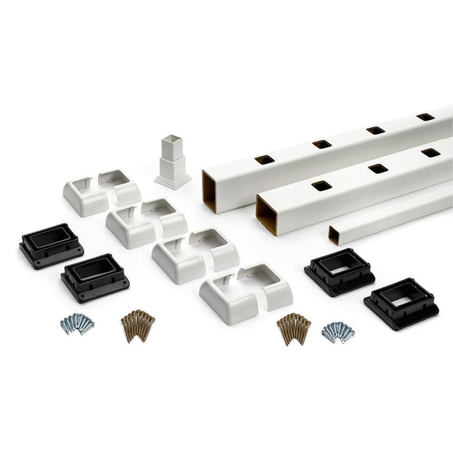 Trex Select 27-Pack Classic White Composite Deck Railing Kit (Assembled: 7.625-ft x 3-ft)