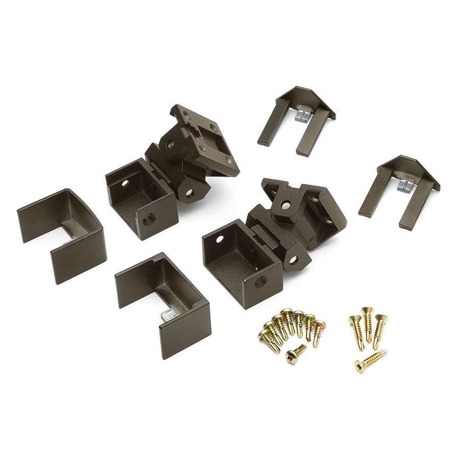 Trex 15-Pack Bronze Zinc Swivel Handrail Brackets
