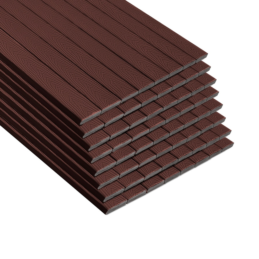 Trex Select Madeira Composite Deck Board (Actual: 0.82-in x 5.5-in x 12-ft)