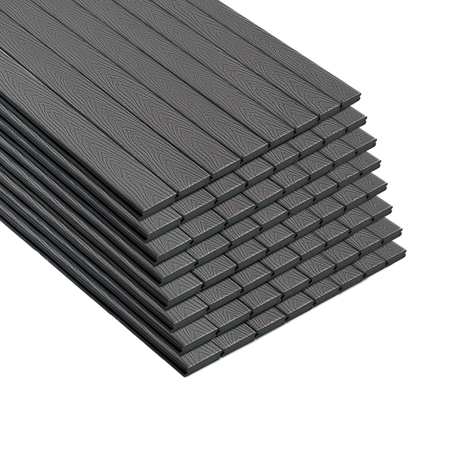 Trex Select Winchester Grey Groove Composite Deck Board (Actual: 0.82-in x 5.5-in x 16-ft)
