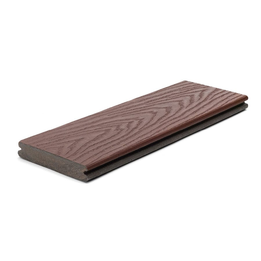 Trex Select Madeira Groove Composite Deck Board (Actual: 0.82-in x 5.5-in x 12-ft)