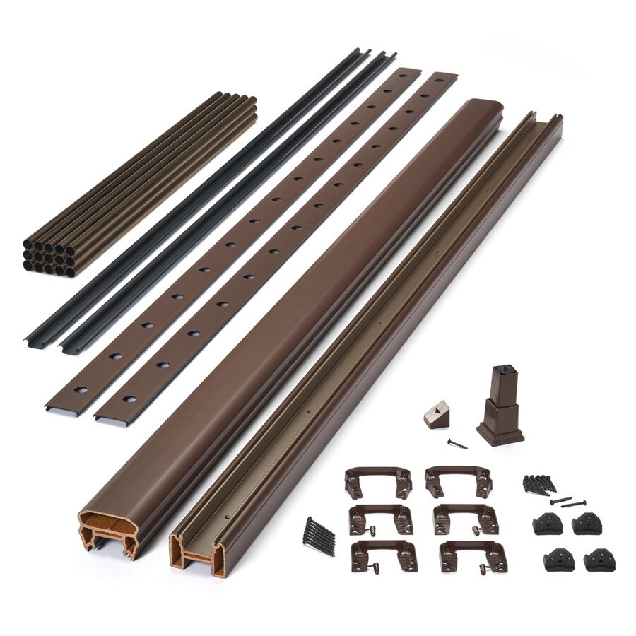Trex Transcend Bronze Composite Deck Baluster (Common: 2-in x 2-in x 36-in; Actual: 1.418-in x 1.418-in x 37-in)