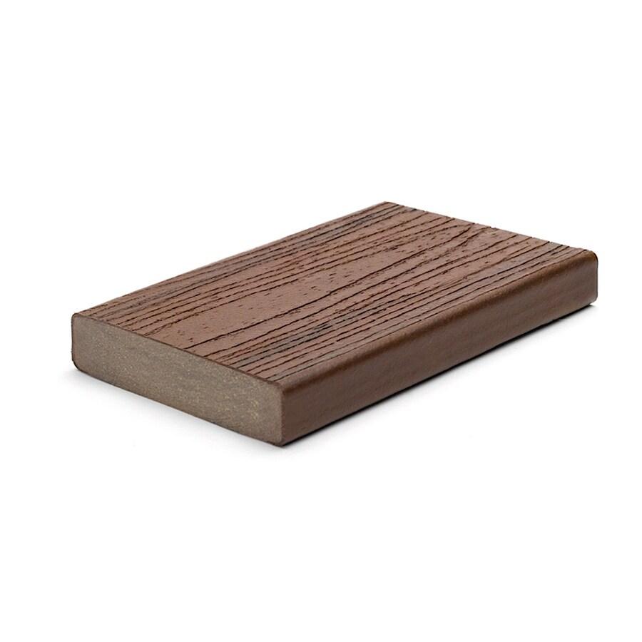Trex Transcend Lava Rock Composite Deck Board (Actual: 1.3-in x 5.5-in x 12-ft)