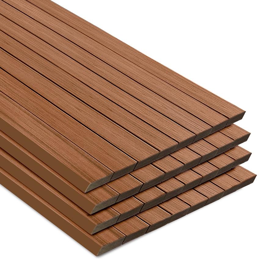 Trex Transcend Tiki Torch Composite Deck Board (Actual: 1.3-in x 5.5-in x 12-ft)