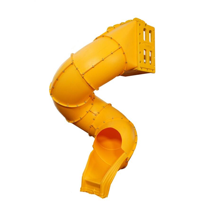 PlayStar Yellow Spiral Tube Slide