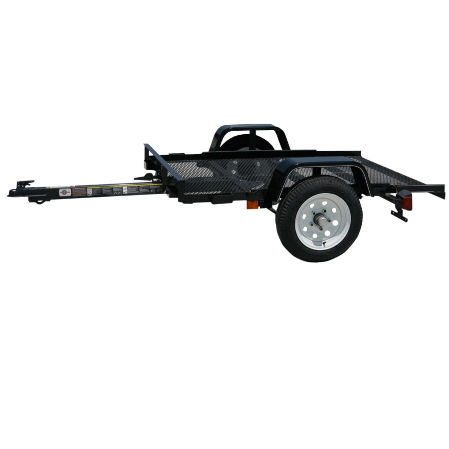 Carry-On Trailer 4-ft x 5-ft Wire Mesh Utility Trailer