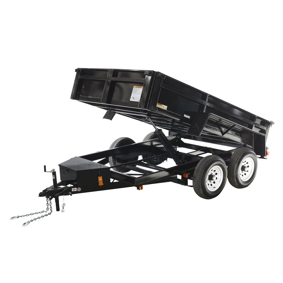 Carry-On Trailer 6-ft x 10-ft Steel Utility Trailer Ramp Gate