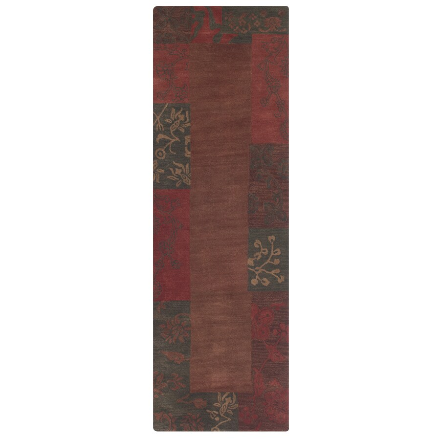 Madison 2-ft 6-in W x 8-ft L Red Runner