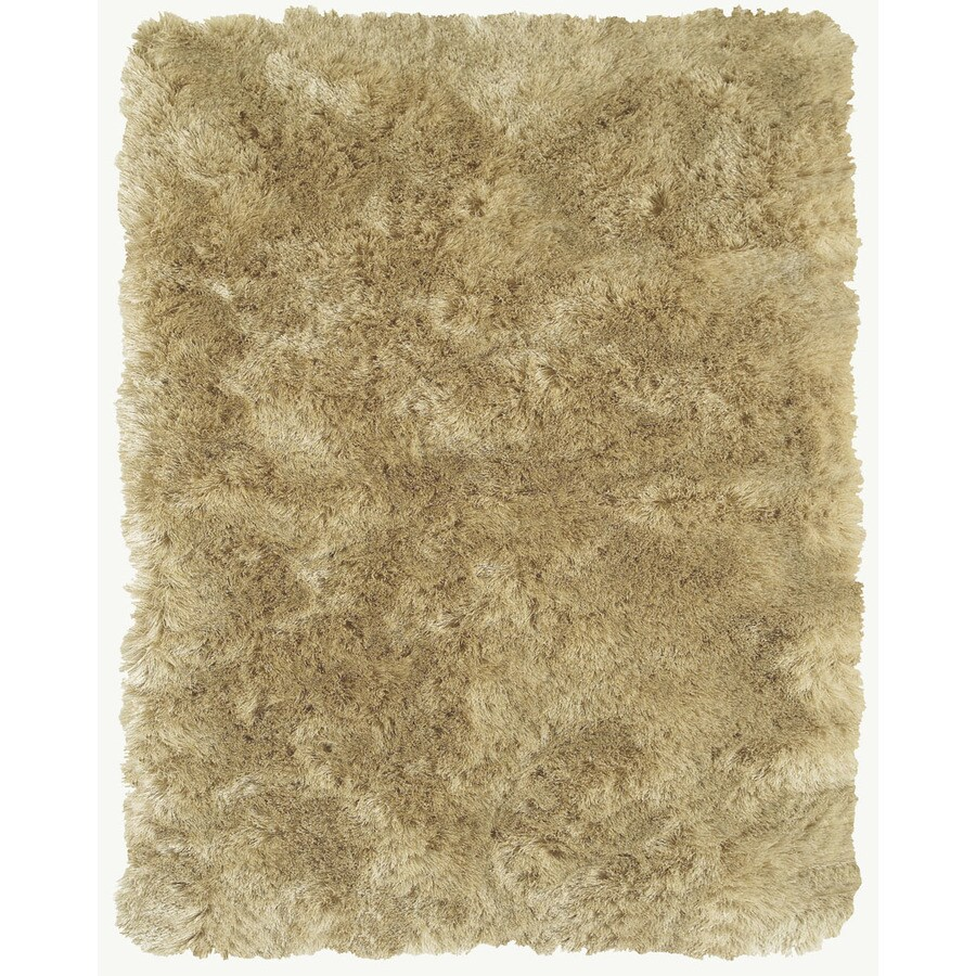 Isleta Cream Rectangular Indoor Tufted Throw Rug (Common: 2 x 3; Actual: 24-in W x 40-in L)
