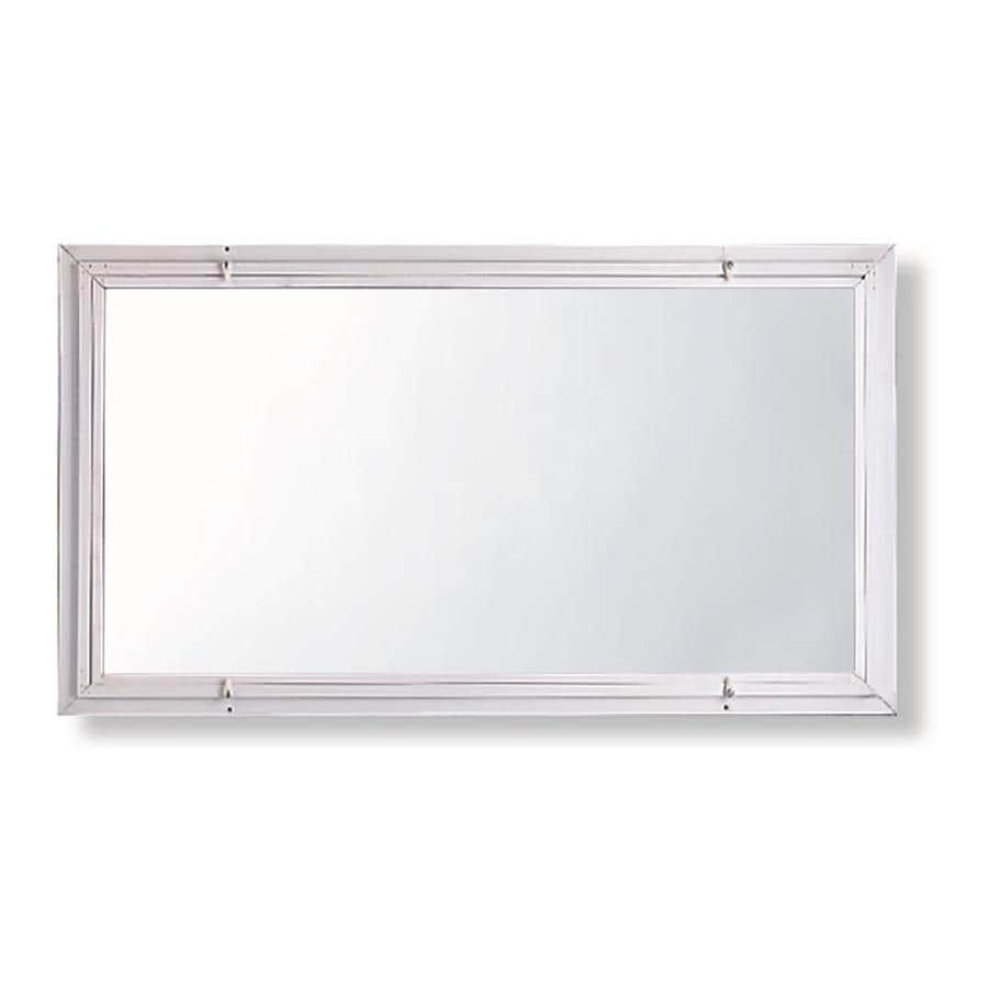 Comfort-Bilt Single-Glazed Basement Aluminum Storm Window (Rough Opening: 32.1875-in x 18.1875-in; Actual: 32-in x 18-in)