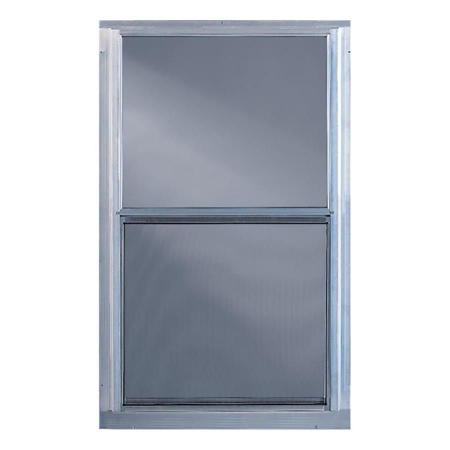 comfort bilt single glazed aluminum storm window rough opening 28 in