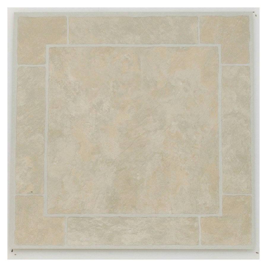 Novalis Home Fashion 12-in x 12-in Bombay Slate Peel-and-Stick Residential Vinyl Tile