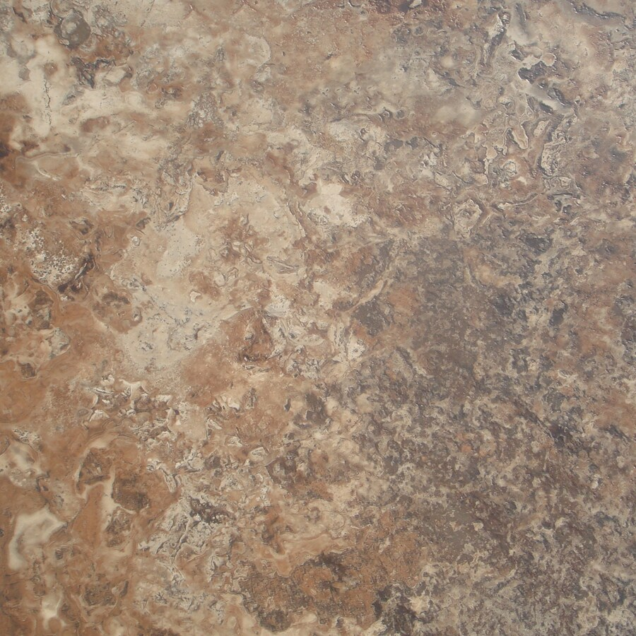 STAINMASTER 18-in x 18-in Groutable Corsica Cavern Peel-and-Stick Stone Luxury Commercial Vinyl Tile