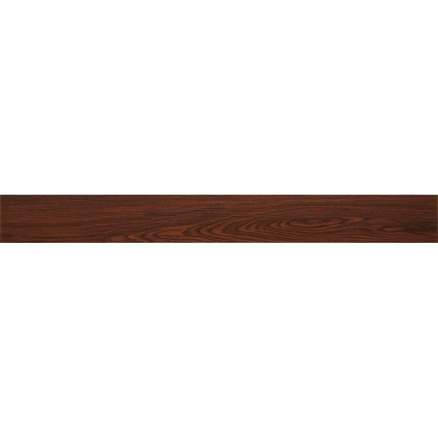 Novalis 30-Piece 4-in x 36-in Burgundy Oak Glue Down Commercial/Residential Vinyl Plank