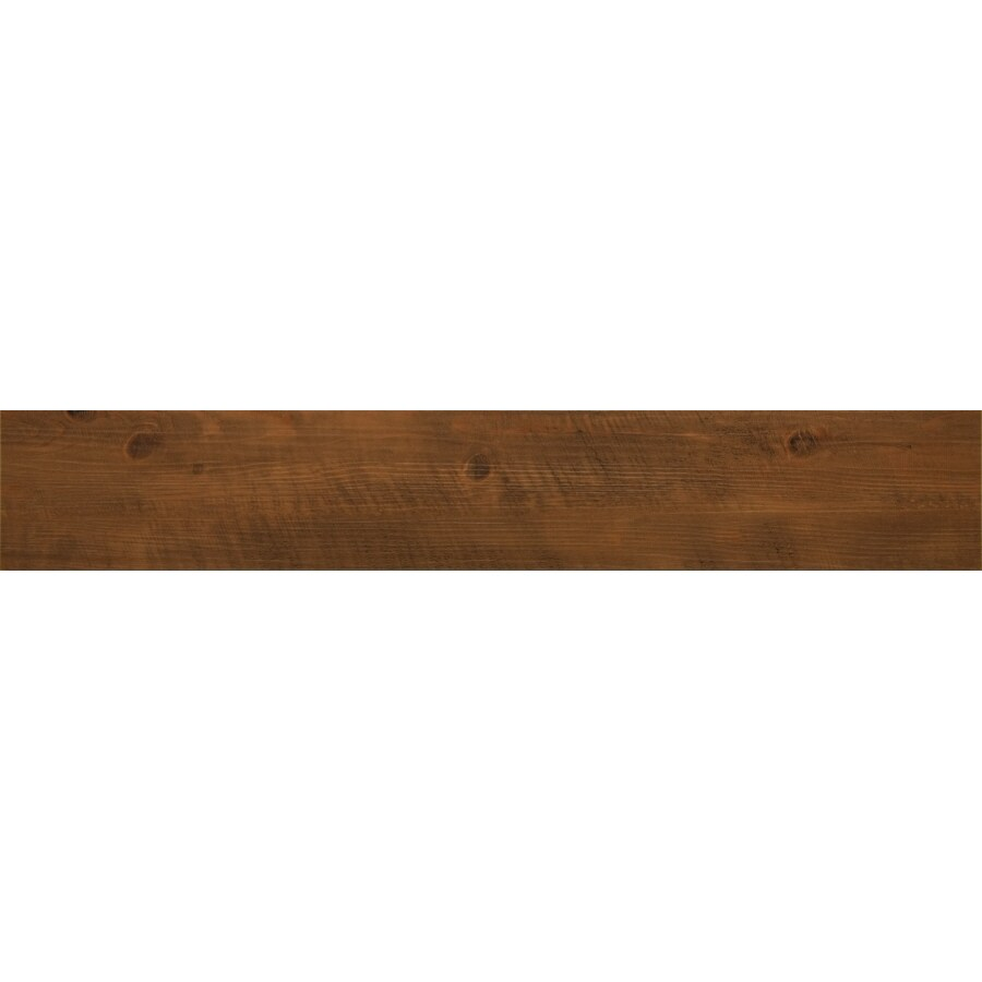 Novalis 20-Piece 6-in x 36-in Saddle Oak Glue Down Commercial/Residential Vinyl Plank