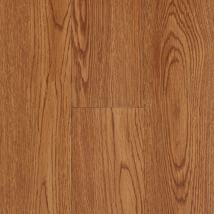 Style Selections 4-in x 36-in Golden Peel-and-Stick Oak Residential Vinyl Plank