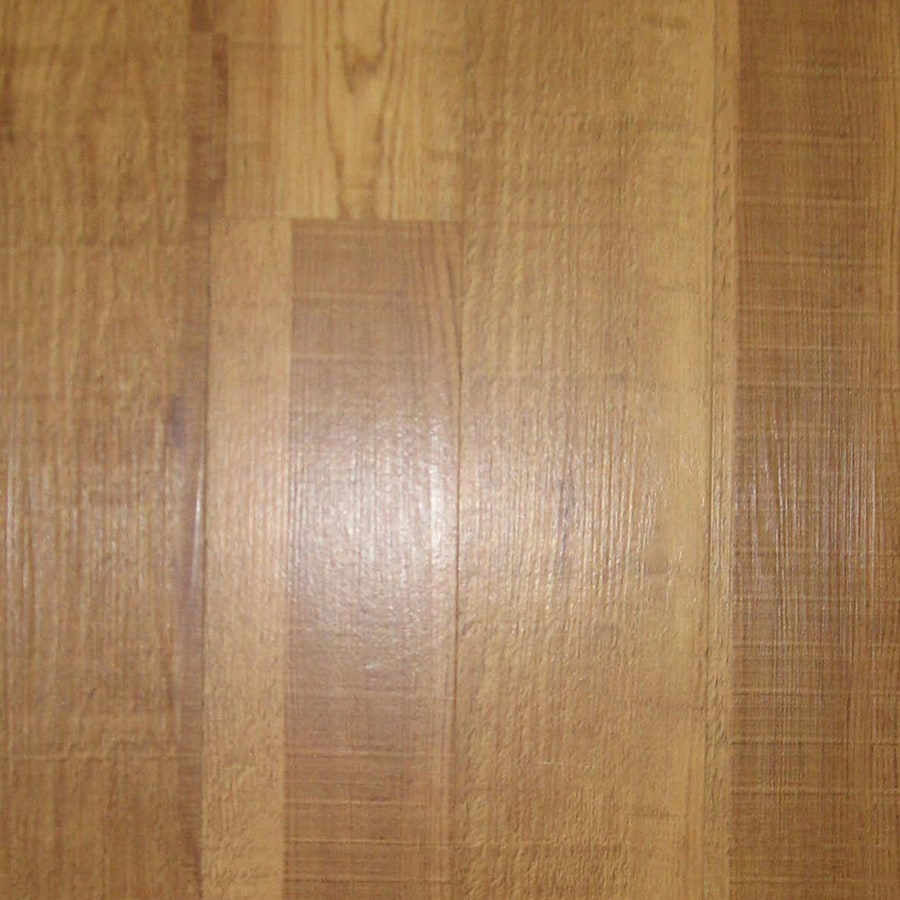 Style Selections 4-in x 36-in Caramel Roughcut Peel-and-Stick Oak Residential Vinyl Plank