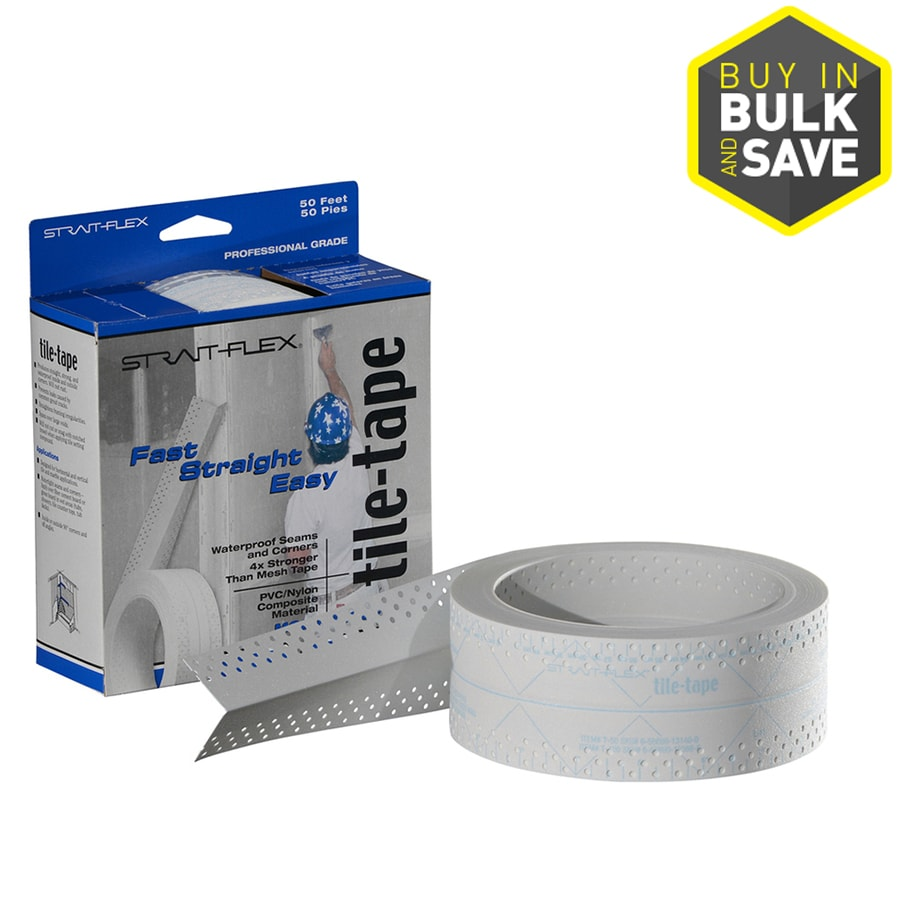 Strait Flex Drywall Tape : Shop strait flex in ft perforated joint tape at