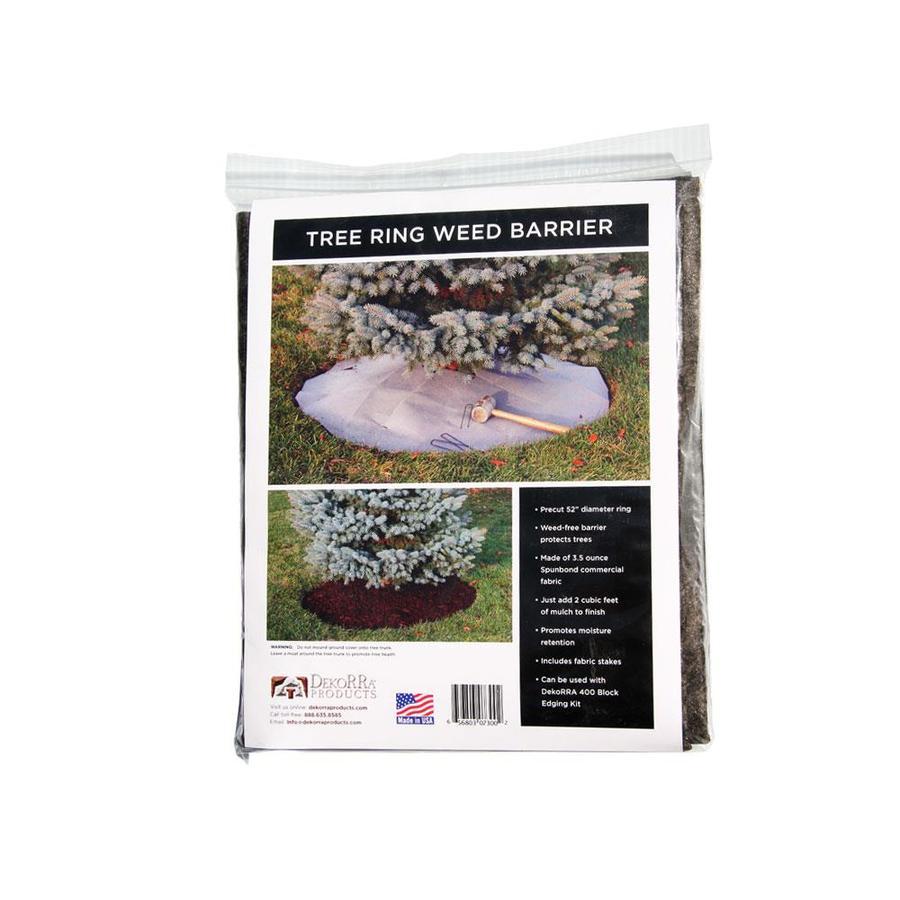 Dekorra 4.4-ft Gray Spun-Bond Material Landscape Edging Section