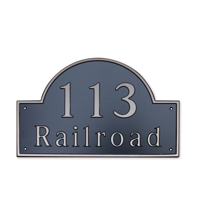 Dekorra 10-in x 16-in Address Plaque
