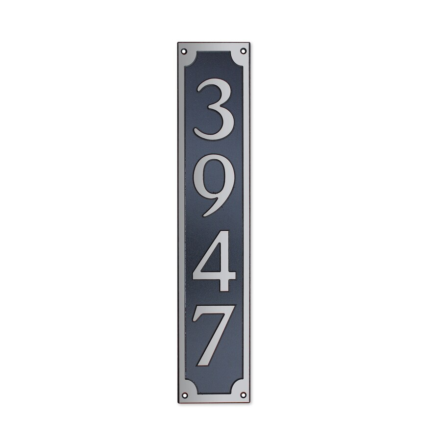 Dekorra 24-in x 6-in Address Plaque