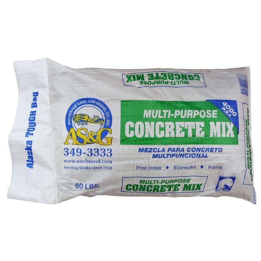 Anchorage Sand & Gravel 60-lb Gray Hydraulic Concrete Mix