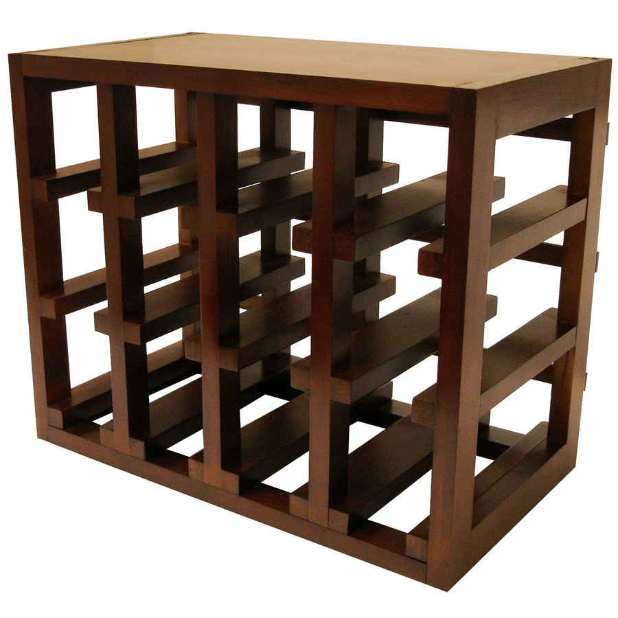 Epicureanist 12-Bottle Stackable Wine Rack