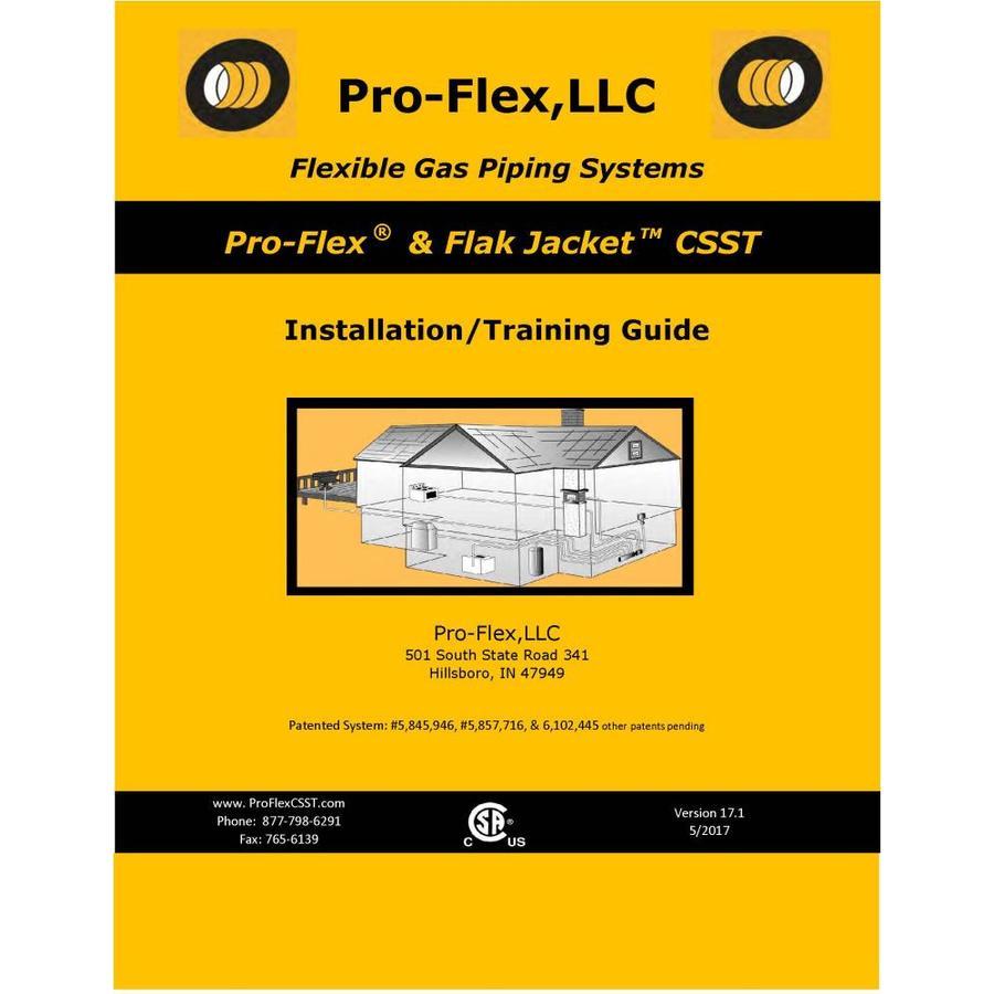 PRO-FLEX Pro-Flex CSST Installation/Training Guide