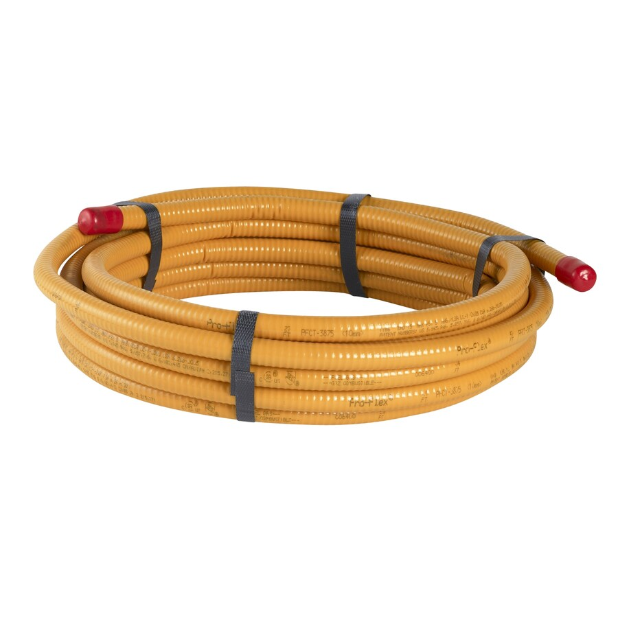 PRO-FLEX 3/8-in x 25-ft CSST Pipe (By-the-Roll)