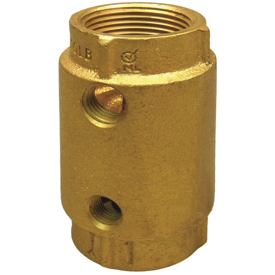 Shop Proplumber Brass Check Valve At Lowes Com