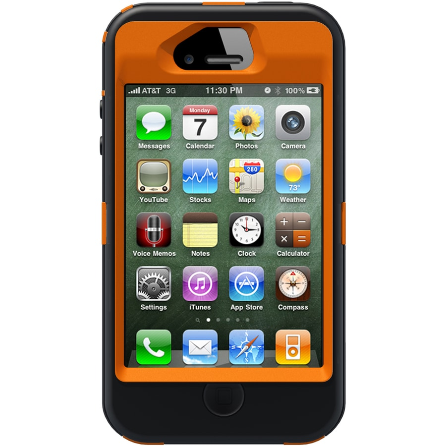 OtterBox AP Blazed Camo Polycarbonate and Silicone Smart Phone Case for the iPhone 4S