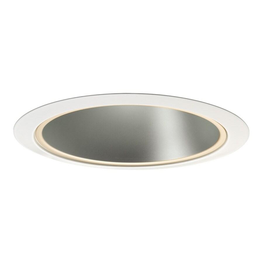 Juno Haze Reflector, White Trim Ring Open Recessed Light Trim (Fits Housing Diameter: 6-in)