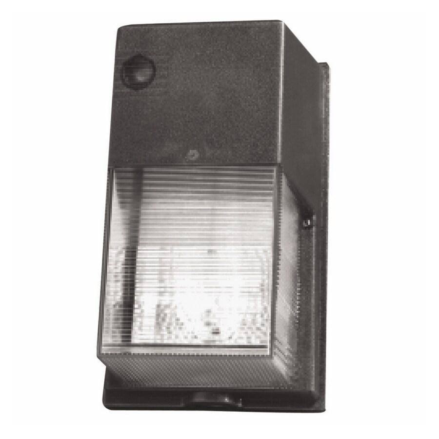 Utilitech 70-Watt Bronze High-Pressure Sodium Dusk-to-Dawn Flood Light