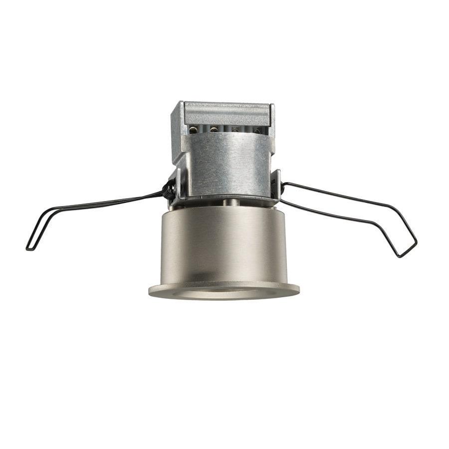 juno mini led satin nickel integrated led remodel recessed light kit