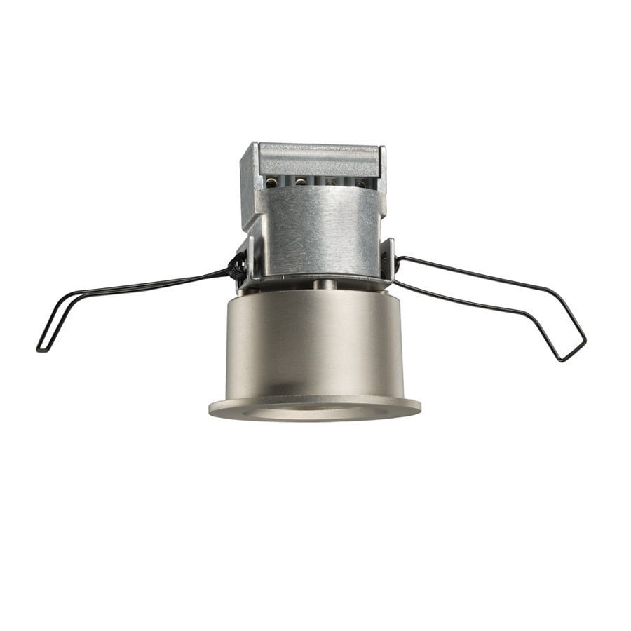 Juno Mini Led Satin Nickel Integrated Led Remodel Recessed Light Kit (Fits Opening: 2-In)