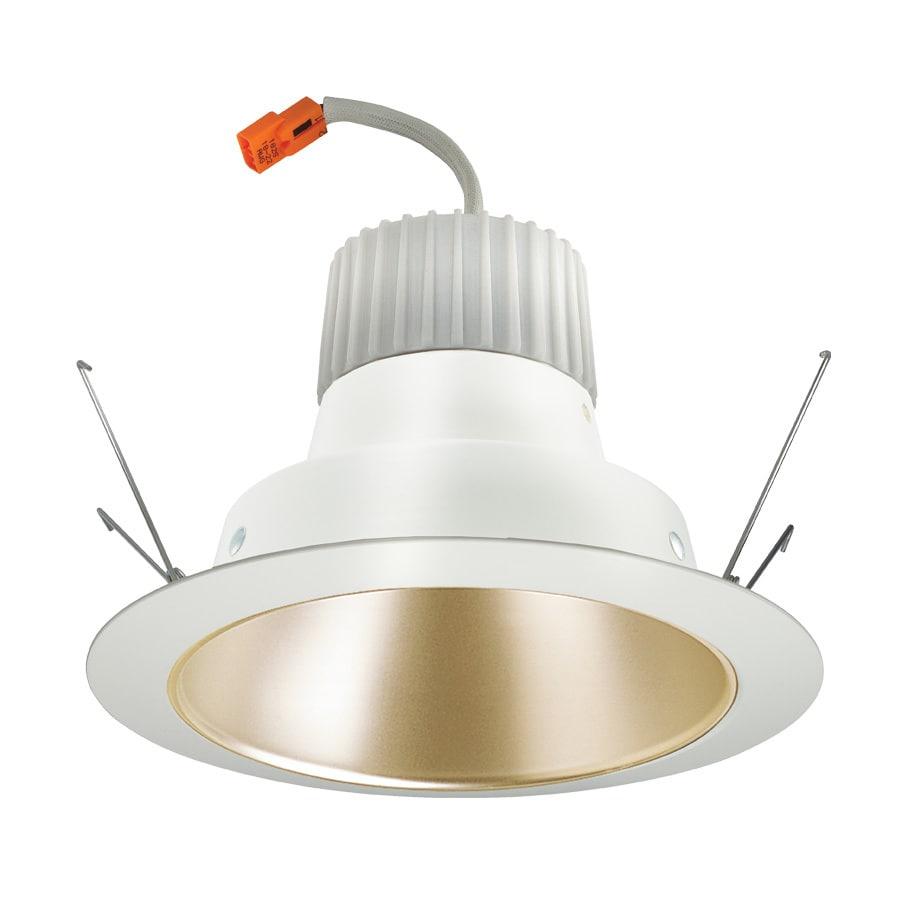 Juno 65-Watt Equivalent Wheat Haze LED Recessed Retrofit Downlight (Fits Housing Diameter: 6-in)