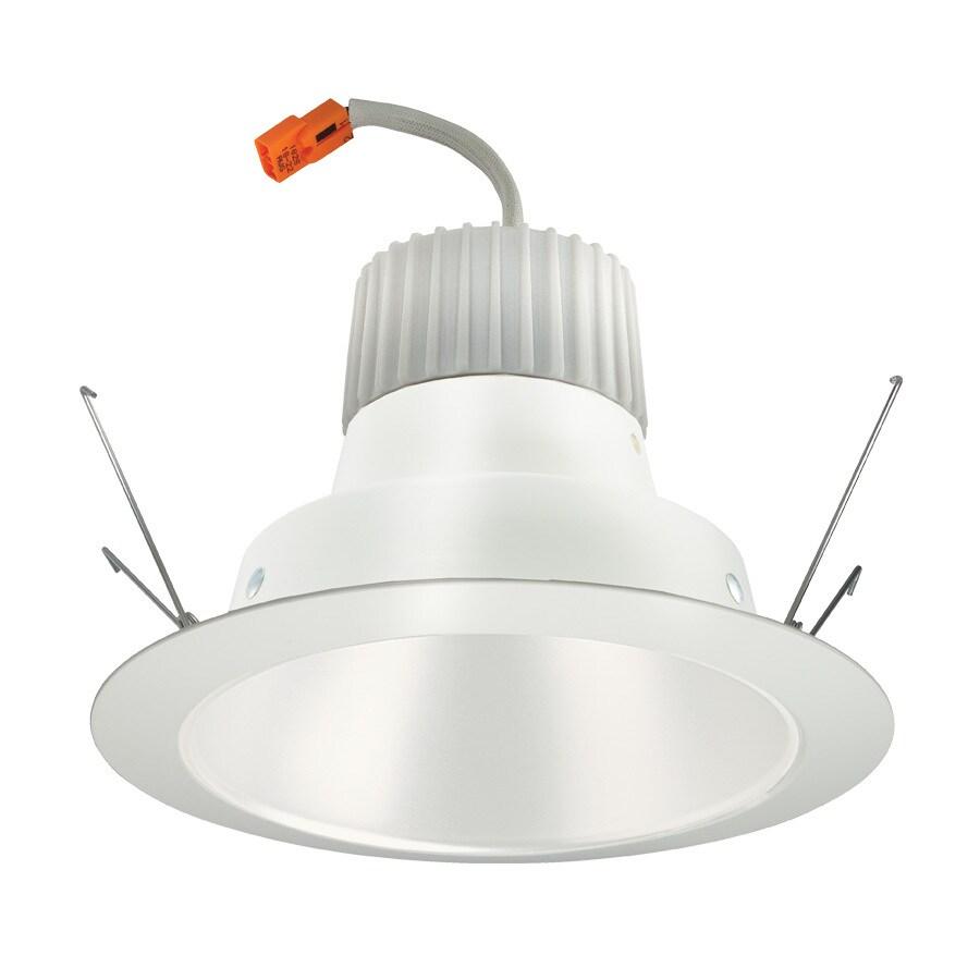 Juno 75-Watt Equivalent White LED Recessed Retrofit Downlight (Fits Housing Diameter: 6-in)