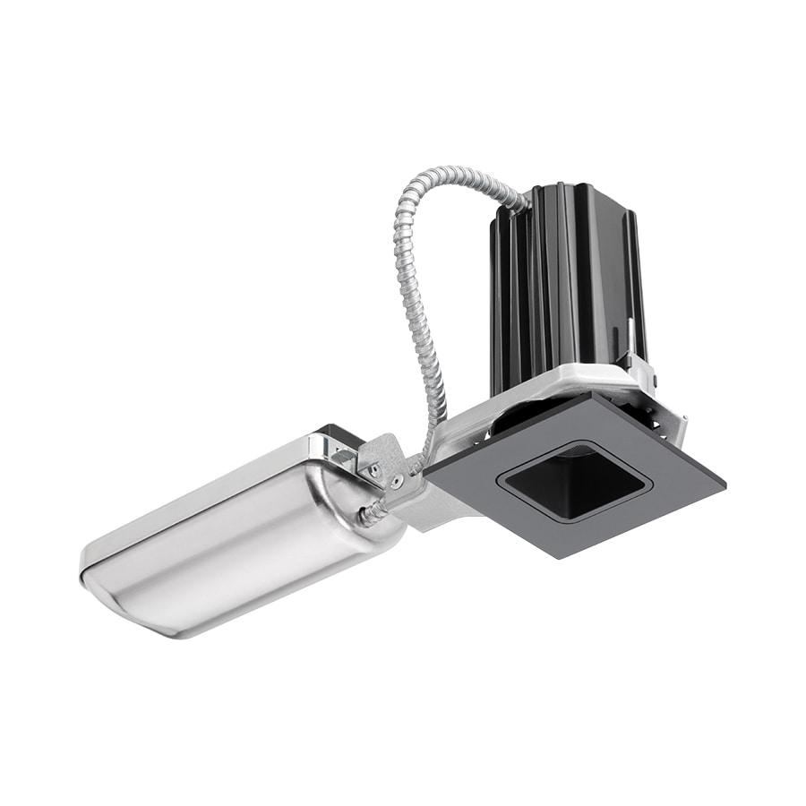 shop juno downlights black led remodel recessed light kit fits opening 2 in. Black Bedroom Furniture Sets. Home Design Ideas