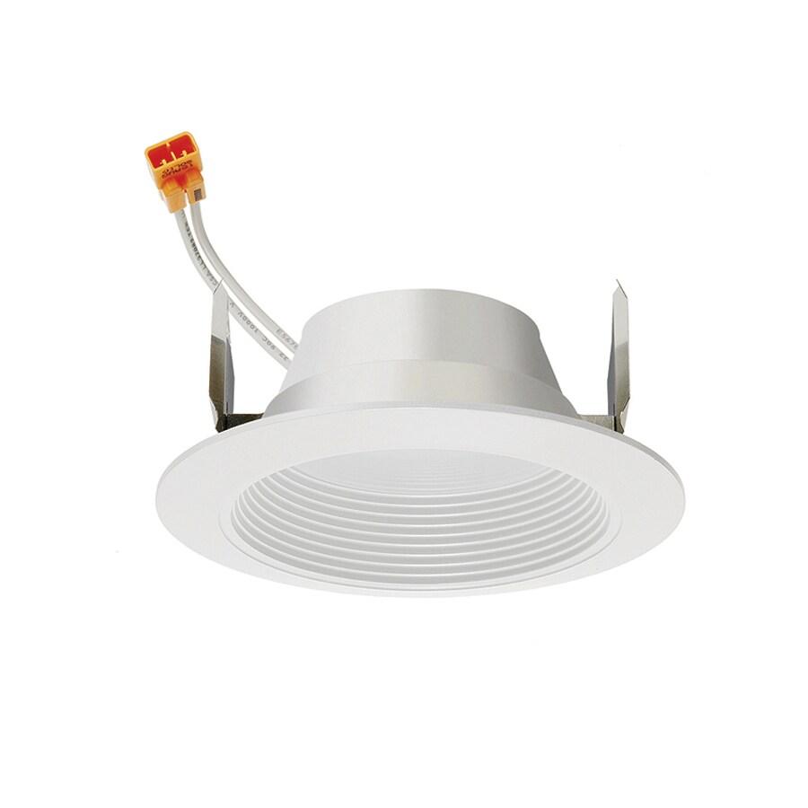 Juno 50-Watt Equivalent White LED Recessed Retrofit Downlight (Fits Housing Diameter: 4-in)