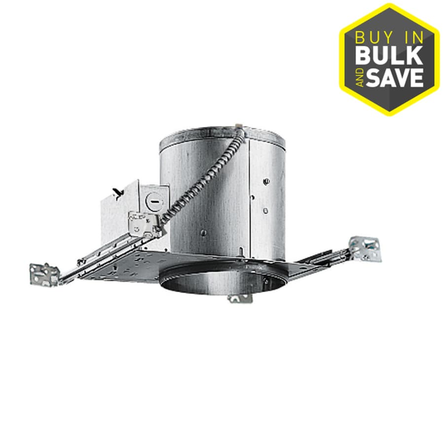 Juno New Construction Airtight IC Recessed Light Housing (Common: 6-in; Actual: 6.87-in)