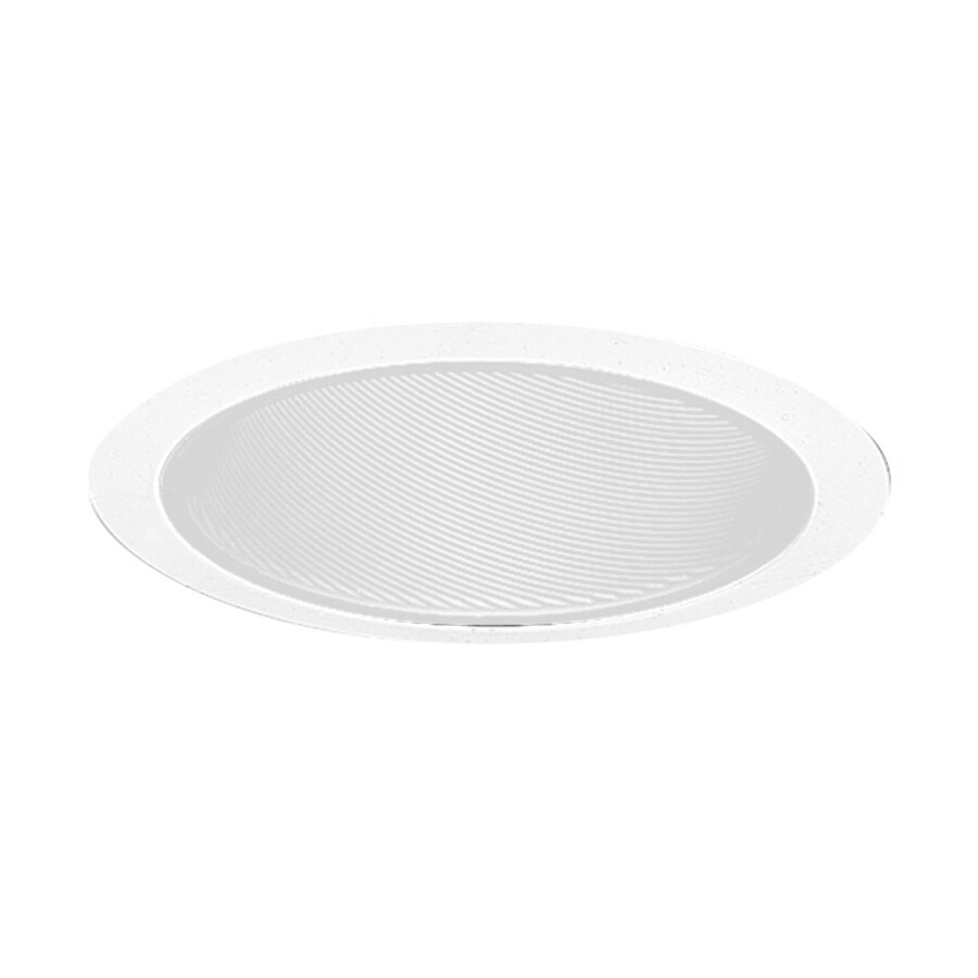Juno White Baffle Recessed Light Trim (Fits Housing Diameter: 6-in)