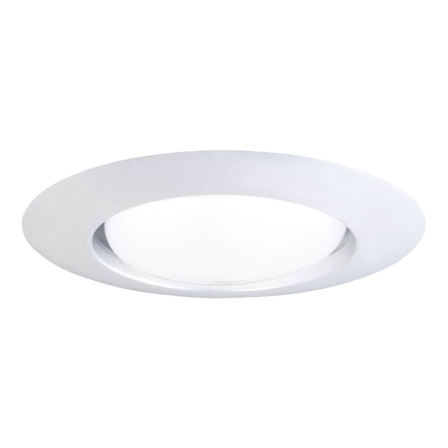 Halo White Open Recessed Light Trim (Fits Housing Diameter: 6-in)
