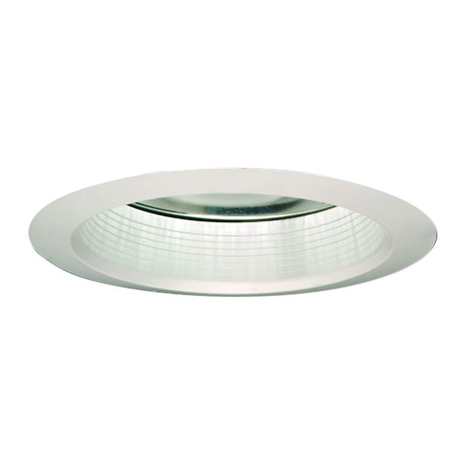 Halo Super Trim White Trim with White Baffle Baffle Recessed Light Trim (Fits Housing Diameter: 6-in)