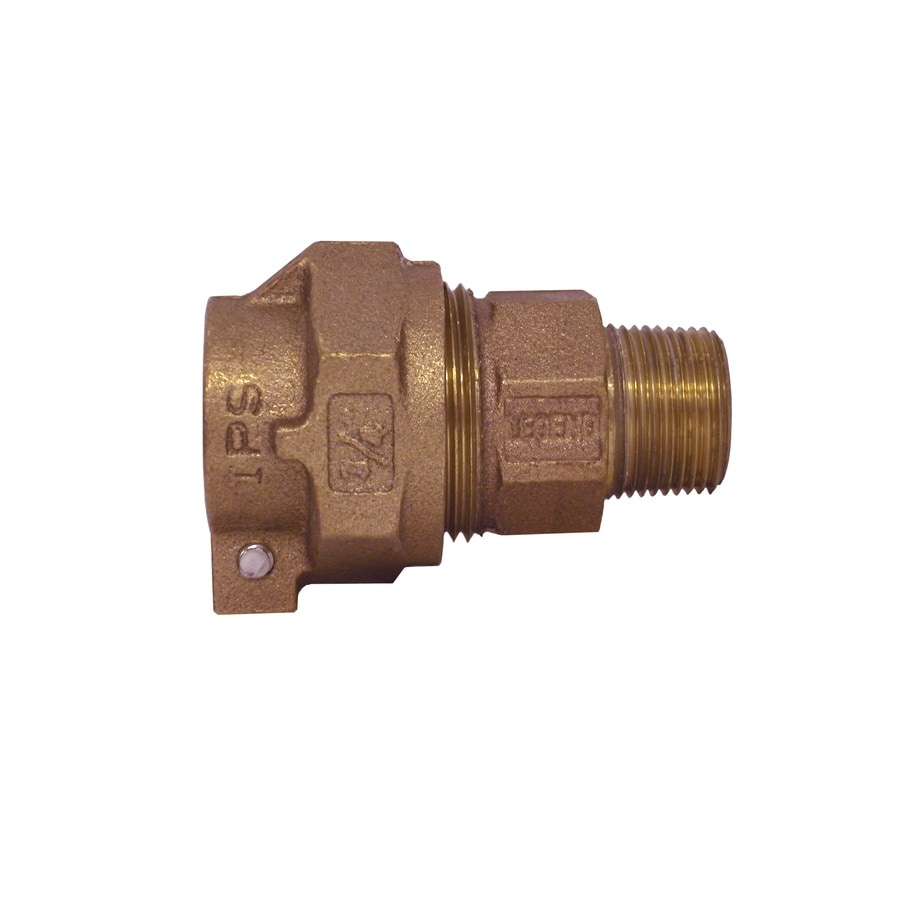 Legend Valve 3/4-in x 3/4-in Compression Compression x MIP Adapter Coupling Fitting