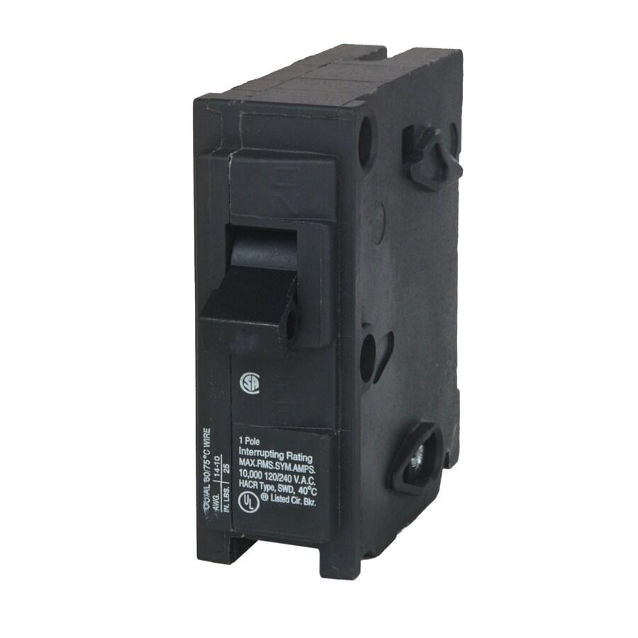 Siemens QP 30-Amp 1-Pole Single-Pole Circuit Breaker