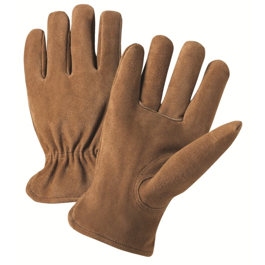 West Chester X-Large Male Tan Leather Insulated Winter Gloves