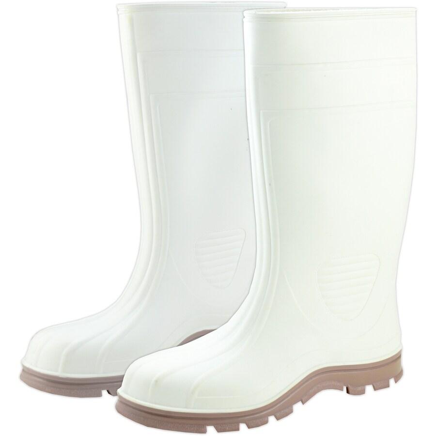 West Chester White PVC Slip Resistant Knee Boot